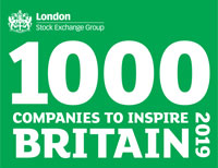 100 Companies to inspire Britain 2019