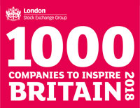 100 Companies to inspire Britain 2018