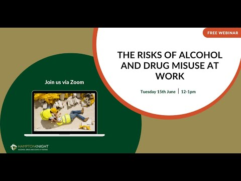 Drug and Alcohol Testing in the Workplace Webinar