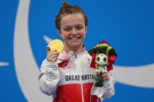 Paralympic Swimmer - Maisie Summers-Newton