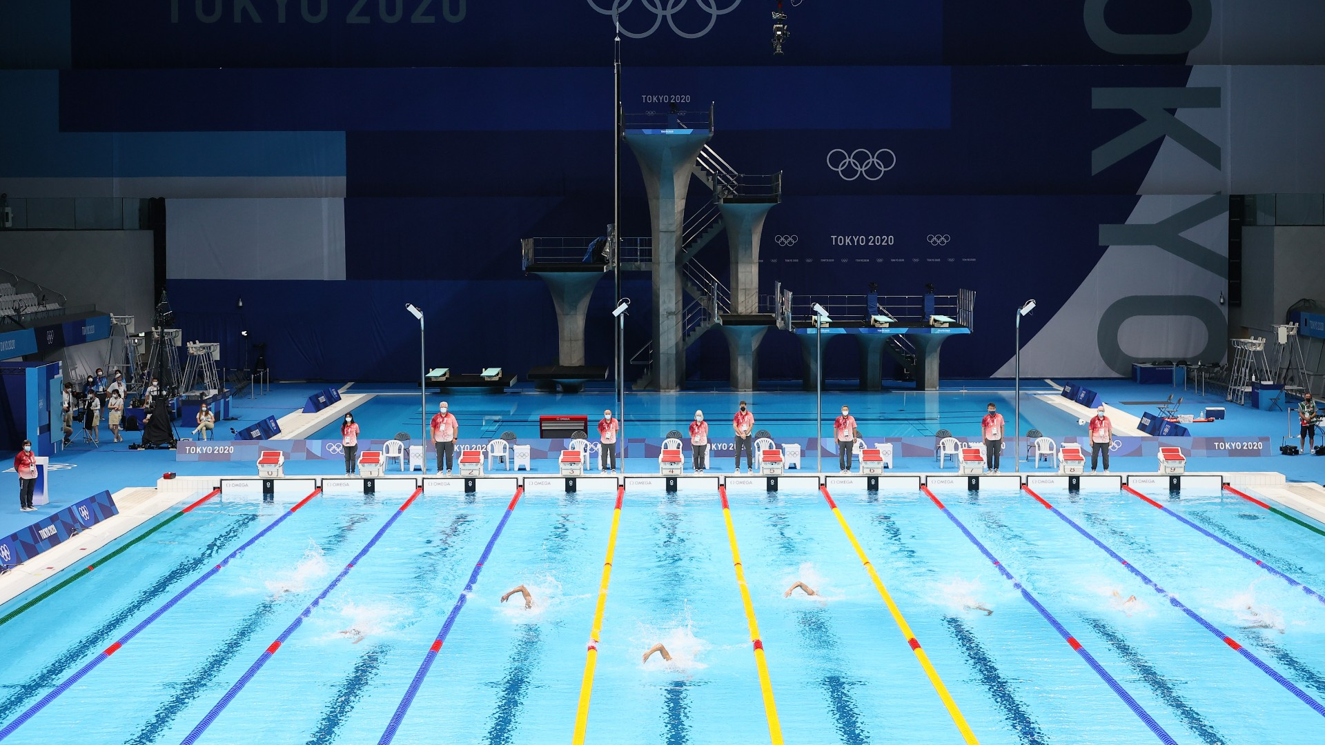 Paralympic Swimmer Pool